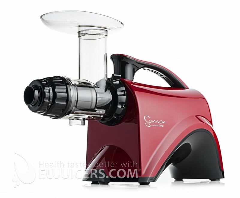 Sana Juicer by Omega EUJ-606 red