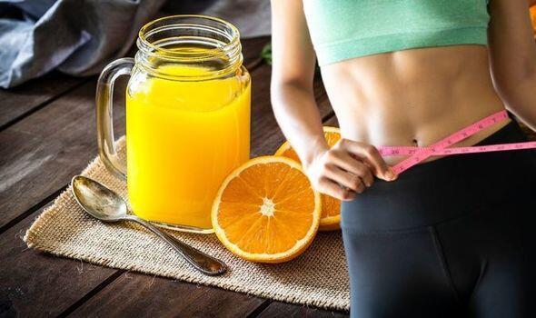 Weight-loss-orange-juice